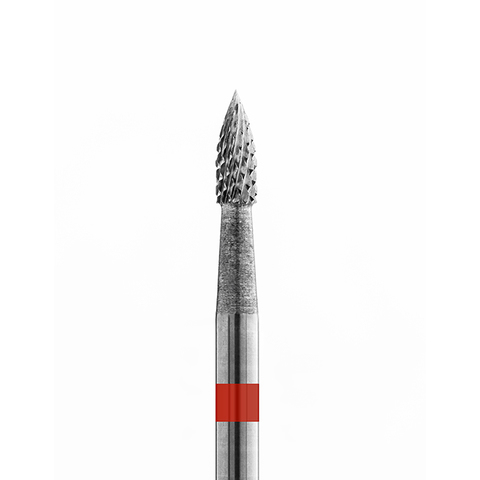 Фреза Пламя, мелкая насечка, 6,5 мм