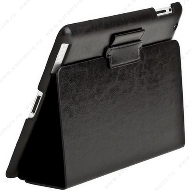 Чехол-книжка Sotomore для Apple iPad 4/ 3/ 2 - черный 0099