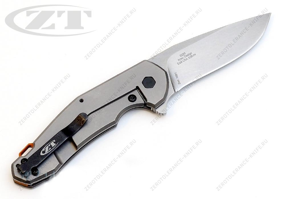 Нож Zero Tolerance 0220 Jens Anso - фотография