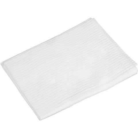 Полотенце вафельное 45х100 см 200 г/кв.м белое 10 штук в упаковке