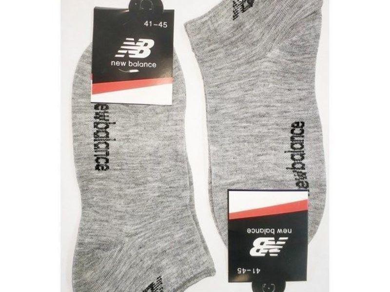 Мужские носки New Balance светло-серые 2 шт.