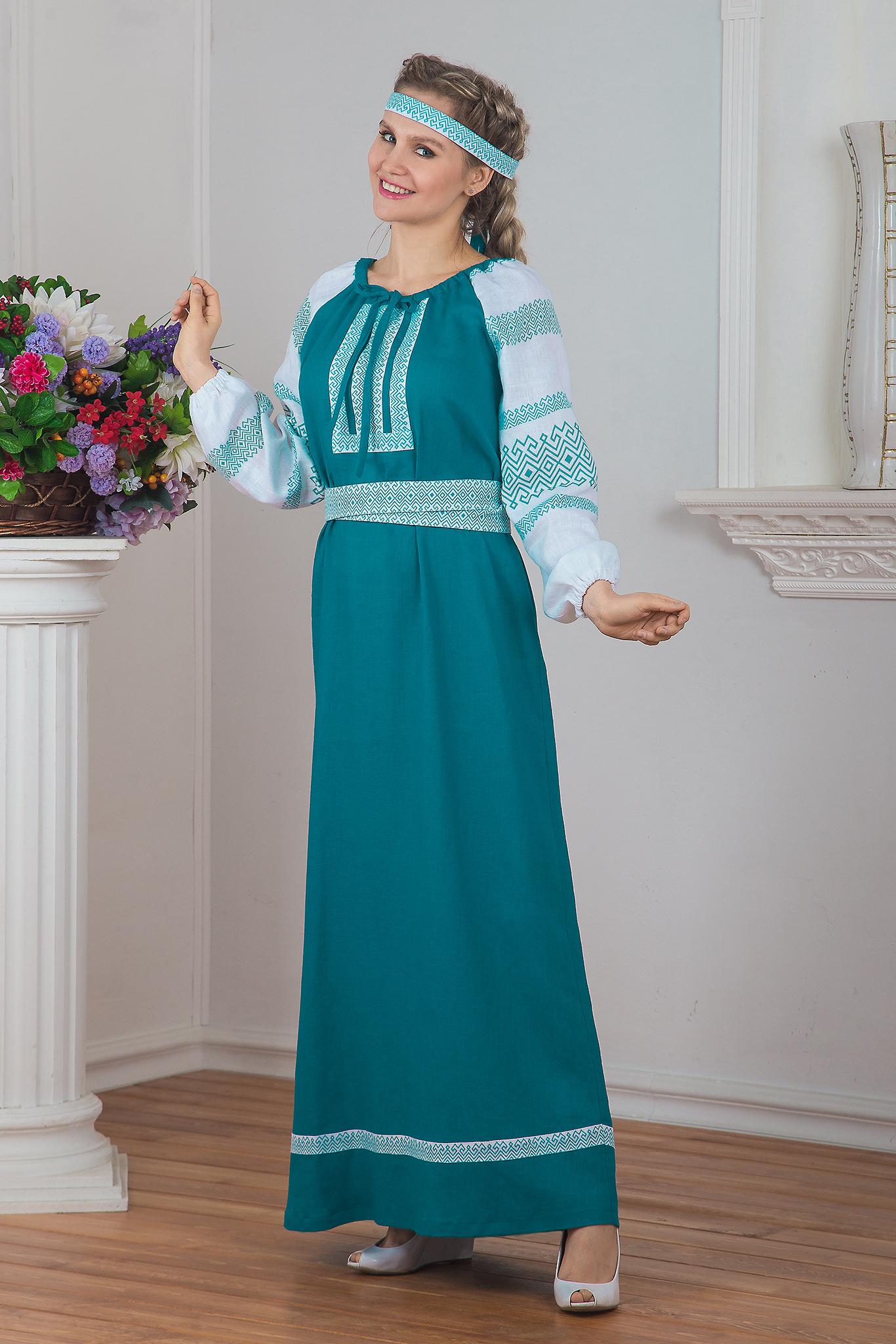 Традиционное платье Заморское