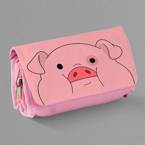 Розовый пенал