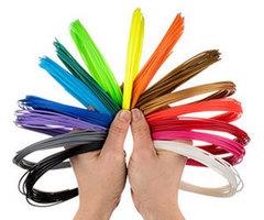 Фотография — Цветной набор PLA пластика