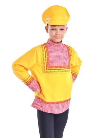 Картуз жёлтый