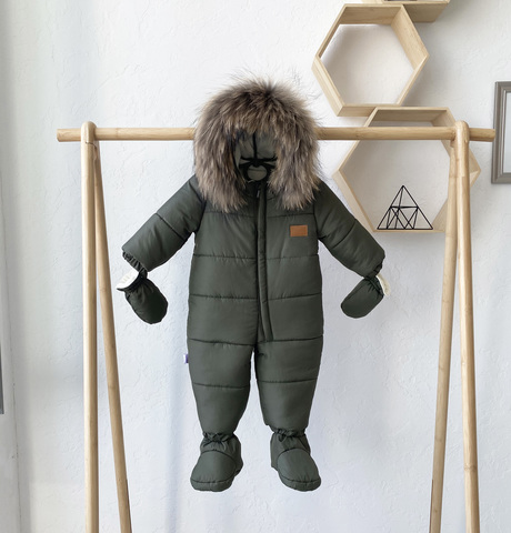 Комбинезон детский зимний Nord Star хаки