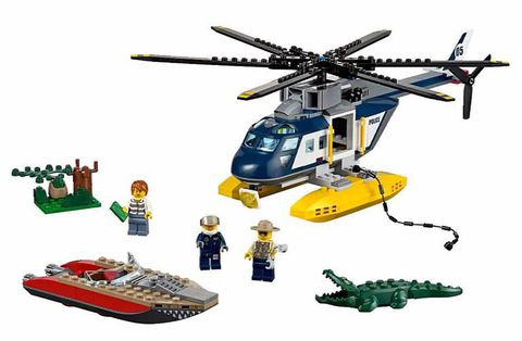LEGO City: Погоня на полицейском вертолёте 60067 — Helicopter Pursuit — Лего Сити Город