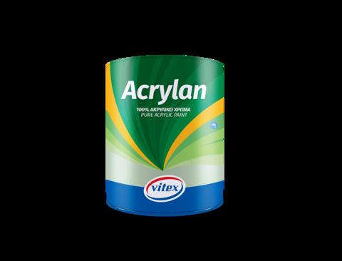 Водорастворимая фасадная  акриловая  краска Acrylan