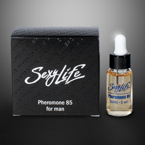 Концентрат феромонов Sexy Life для мужчин (концентрация 85%) - 5 мл.