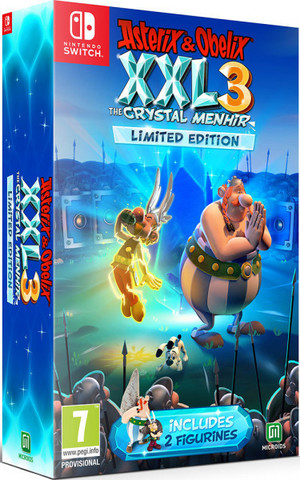 NS: Asterix&Obelix XXL 3 - The Crystal Menhir Limited Edition (русская версия)