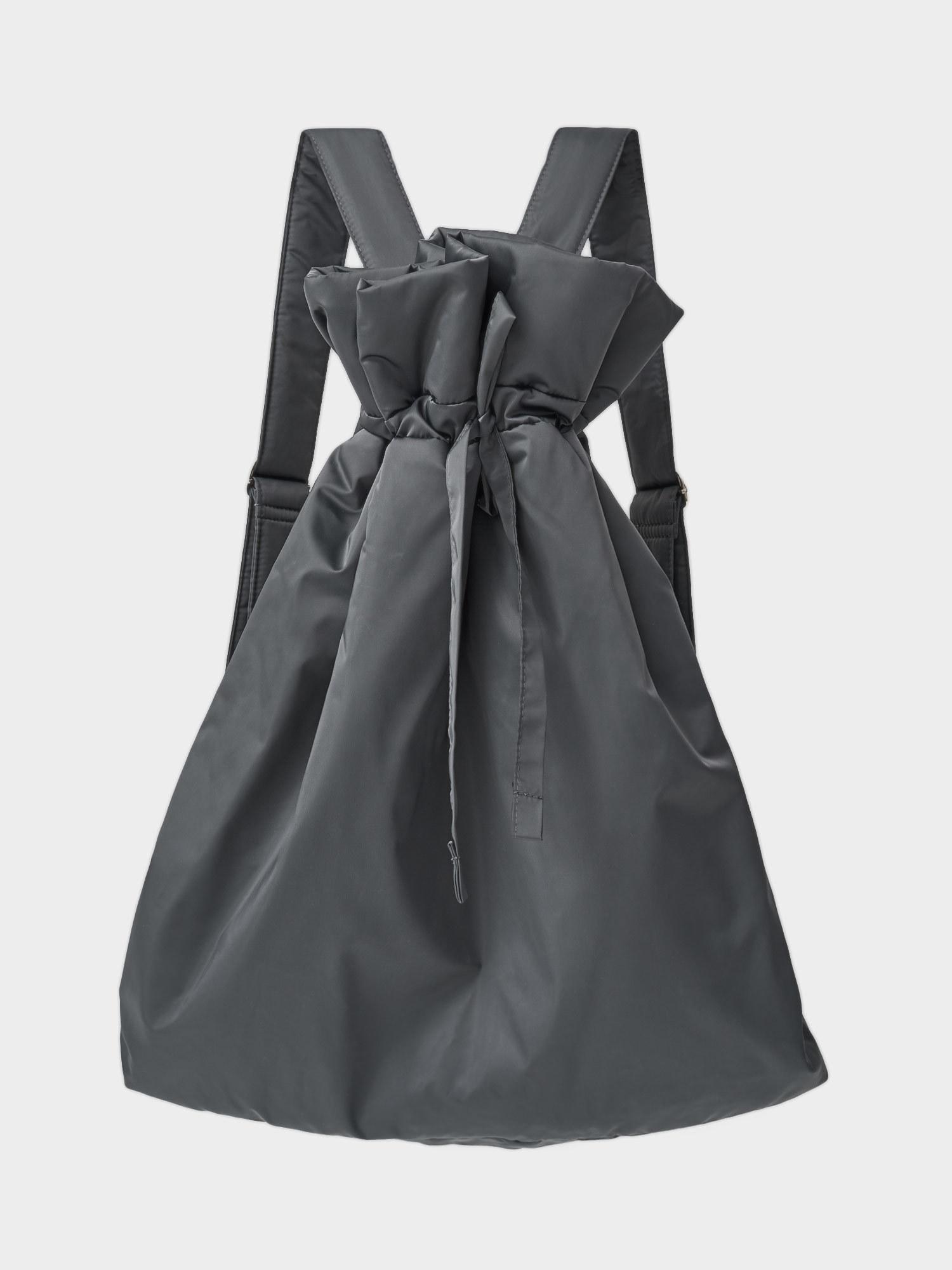 Рюкзак-мешок утепленный, Серый