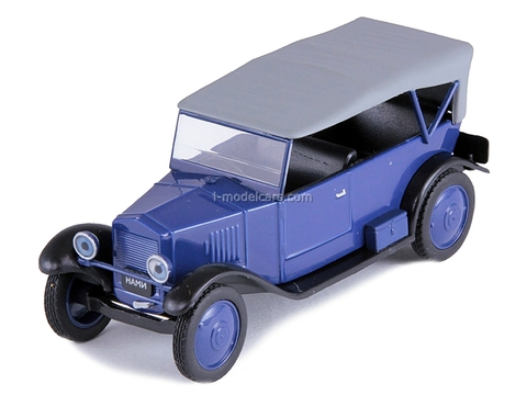 NAMI-1 blue 1:43 DeAgostini Auto Legends USSR #99