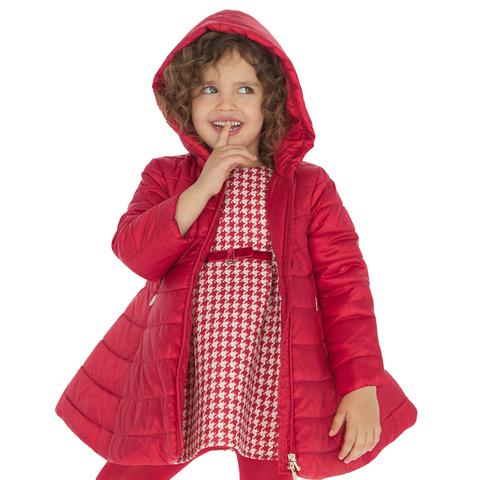 Пальто Mayoral Красное расклешенное