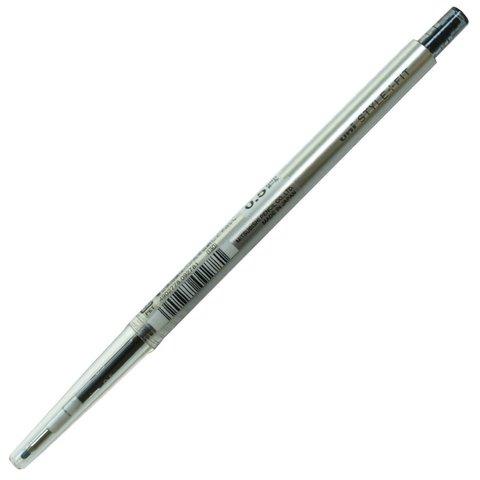 Гелевая ручка 0,5 мм Uni Style Fit - Black - чёрные чернила