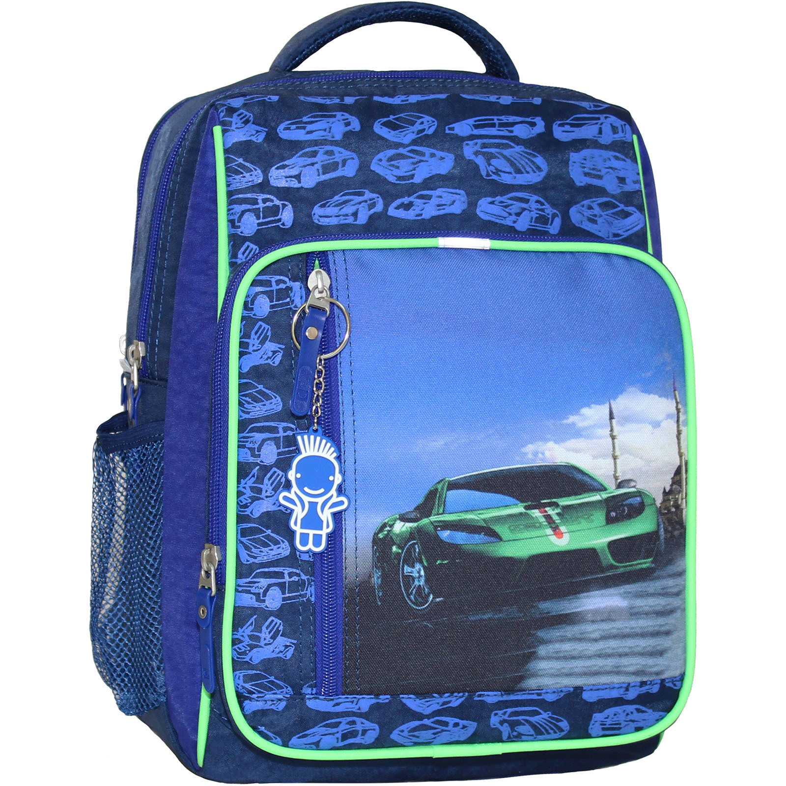 Школьные рюкзаки Рюкзак школьный Bagland Школьник 8 л. 225 синий 58м (0012870) IMG_4644.JPG