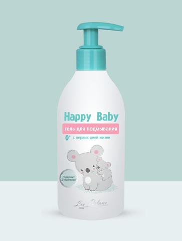 Liv delano Happy Baby Гель для подмывания спервых дней жизни 0+ 300г