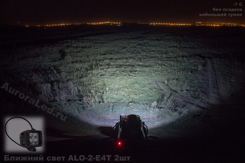 Светодиодная LED фара врезная ближнего света 40 Вт Аврора