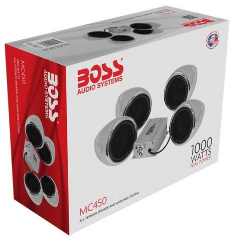 Аудиосистема Boss Audio MC450, 1000 Вт