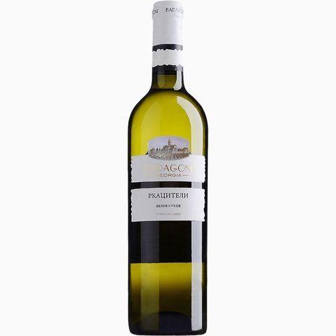 ღვინო რქაწითელი ბადაგონი 0,75ლ