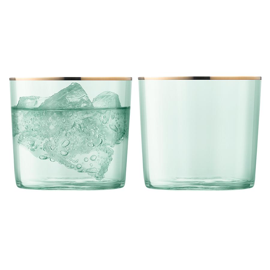 Набор из 2 стаканов Sorbet, 310 мл, зелёный набор стаканов luminarc новая америка 6шт 270мл низкие стекло