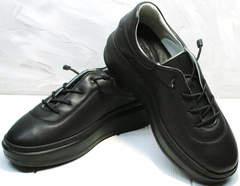 Женские теплые кроссовки на осень Rozen M-520 All Black.