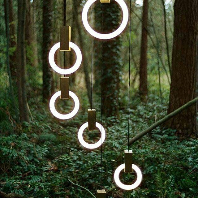 Подвесной светильник Halo by  Matthew McCormick (2 плафона 20/40)