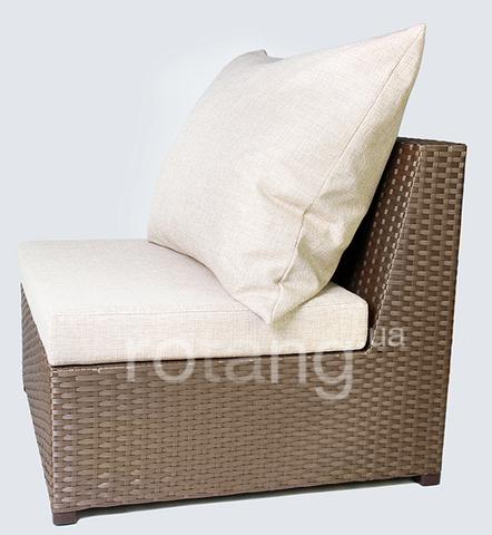 """Прямой элемент """"Ибица-600"""" с подушками"""