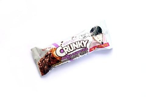 Шоколадные конфеты CRUNKY DOUBLE CRUNCH BAR 40 гр