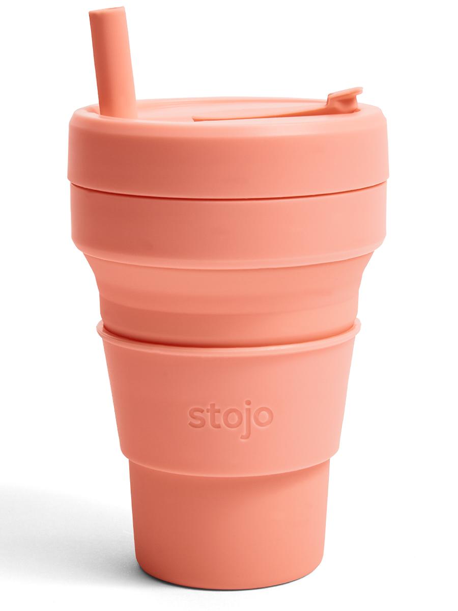 Складной стакан STOJO 470 мл, цвета в ассортименте