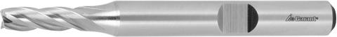 Концевая фреза HSS-Co8 без покрытия