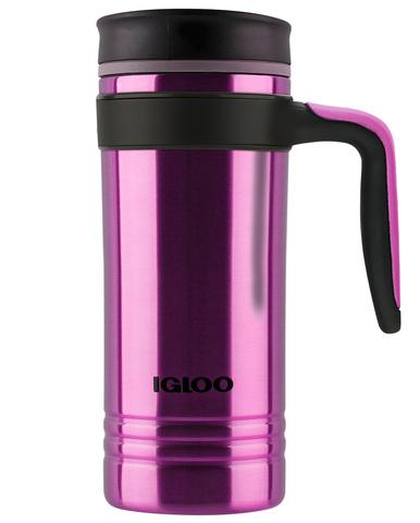 Термокружка Igloo Isabel 16 (0,47 литра), фиолетовая