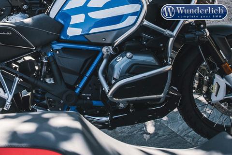 Wunderlich Усилитель для оригинальной защиты двигателя - Комплект - нержавеющая сталь