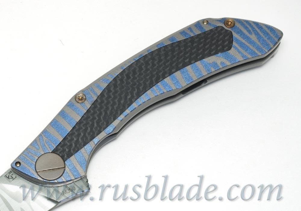 CKF CUSTOM Sablya Stone-2 Knife