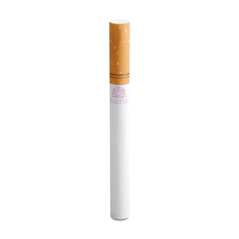 Гильзы для набивки сигарет CARTEL Клубника 200