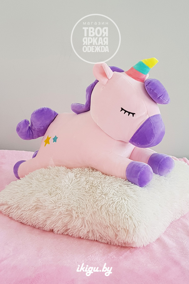 Игрушки с пледом Единорог с пледом Нежно-розовый unicorn_pled_1.jpg