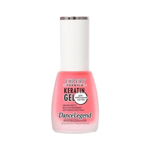 Средство для ухода за ногтями  Keratin Gel Dance Legend, 15 мл