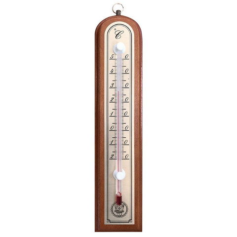 Термометр комнатный деревянный (без ртути)