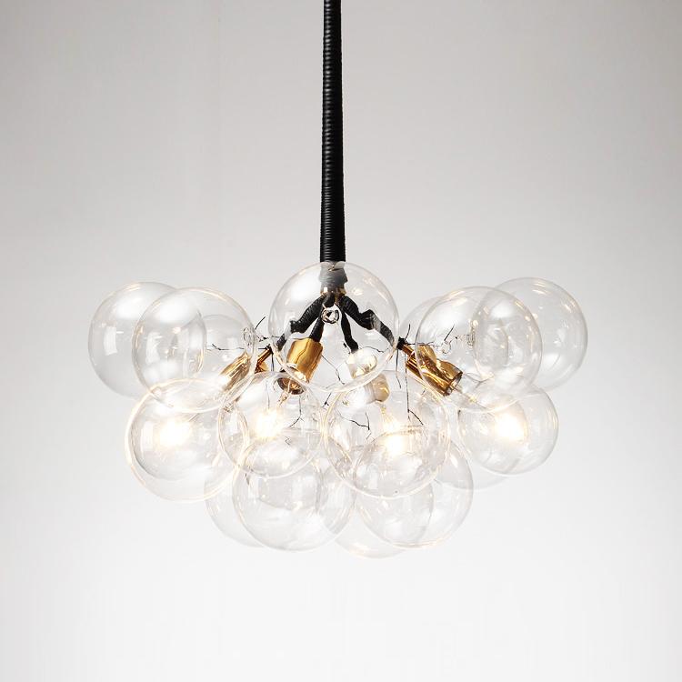 Подвесной светильник копия Bubble X-Large by Pelle (черный)
