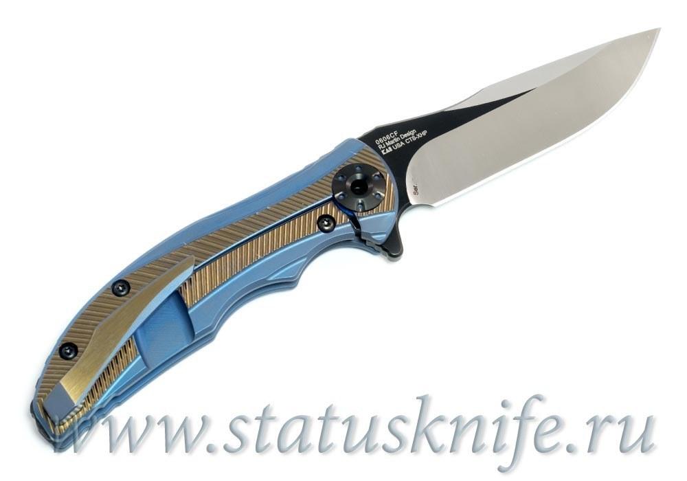 Нож Zero Tolerance 0606CF, RJ Martin Factory Custom - фотография