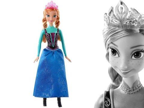 Кукла Анна Холодное Сердце в магазине