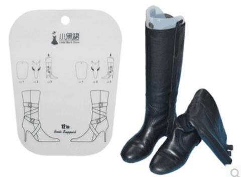 Набор из 3 пластиковых коробок для высоких женских сапог и 3 формодержателей