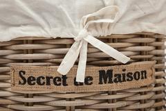 Корзина Secret De Maison Летти (Letti) (набор из 2 штук) — Натуральный Кубу / Natural Kubu