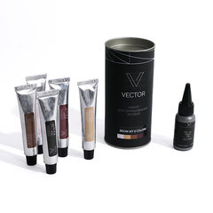 ONIQ Набор Vector Brow Kit 5 Colors