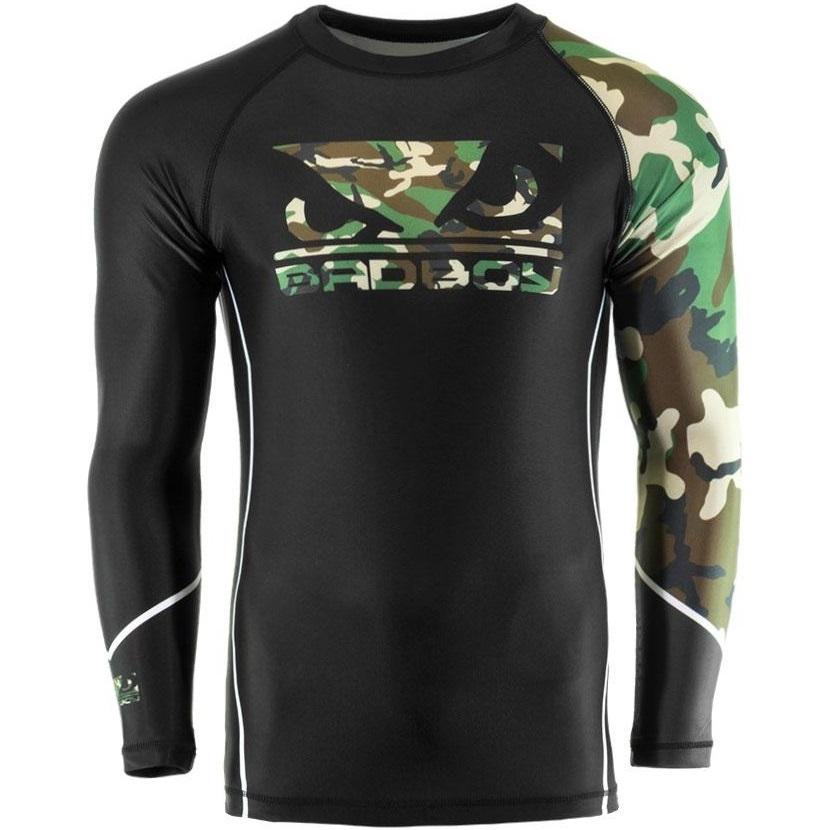 Термобелье/Рашгарды Рашгард Bad Boy Soldier Rash Guard - Black/Сamo 1.jpg