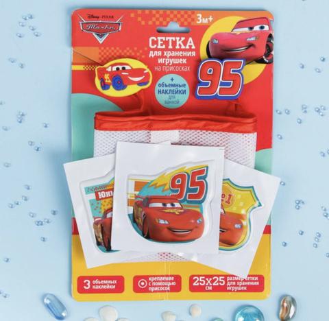 Сетка для хранения игрушек на присосках