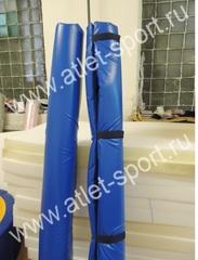 Мягкая защита на вертикальные штанги футбольных ворот (комплект для пары ворот).