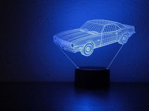 3D ночник Шевроле