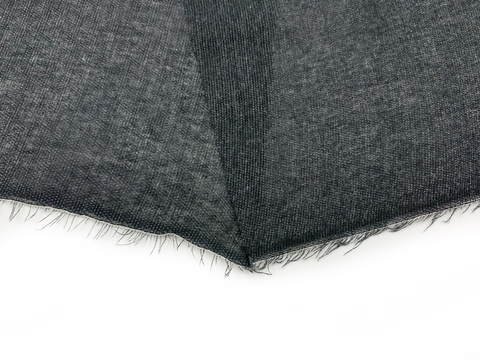 Дублерин черный с клеевым покрытием