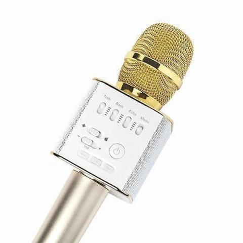 Караоке микрофон MicGeek Q9 с встроенной колонкой