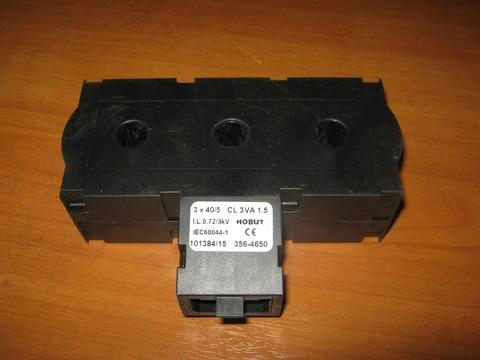Трансформатор тока 3х40/5А / TRANSFORMER-CURRENT (RATIO 40/5A) АРТ: 10000-54033 РО